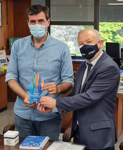 Presidente Ricardo visita prefeitura de Londrina