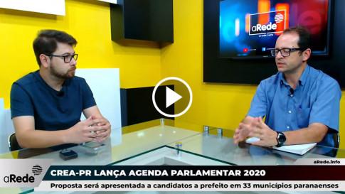 Crea-PR lança agenda parlamentar 2020 para candidatos