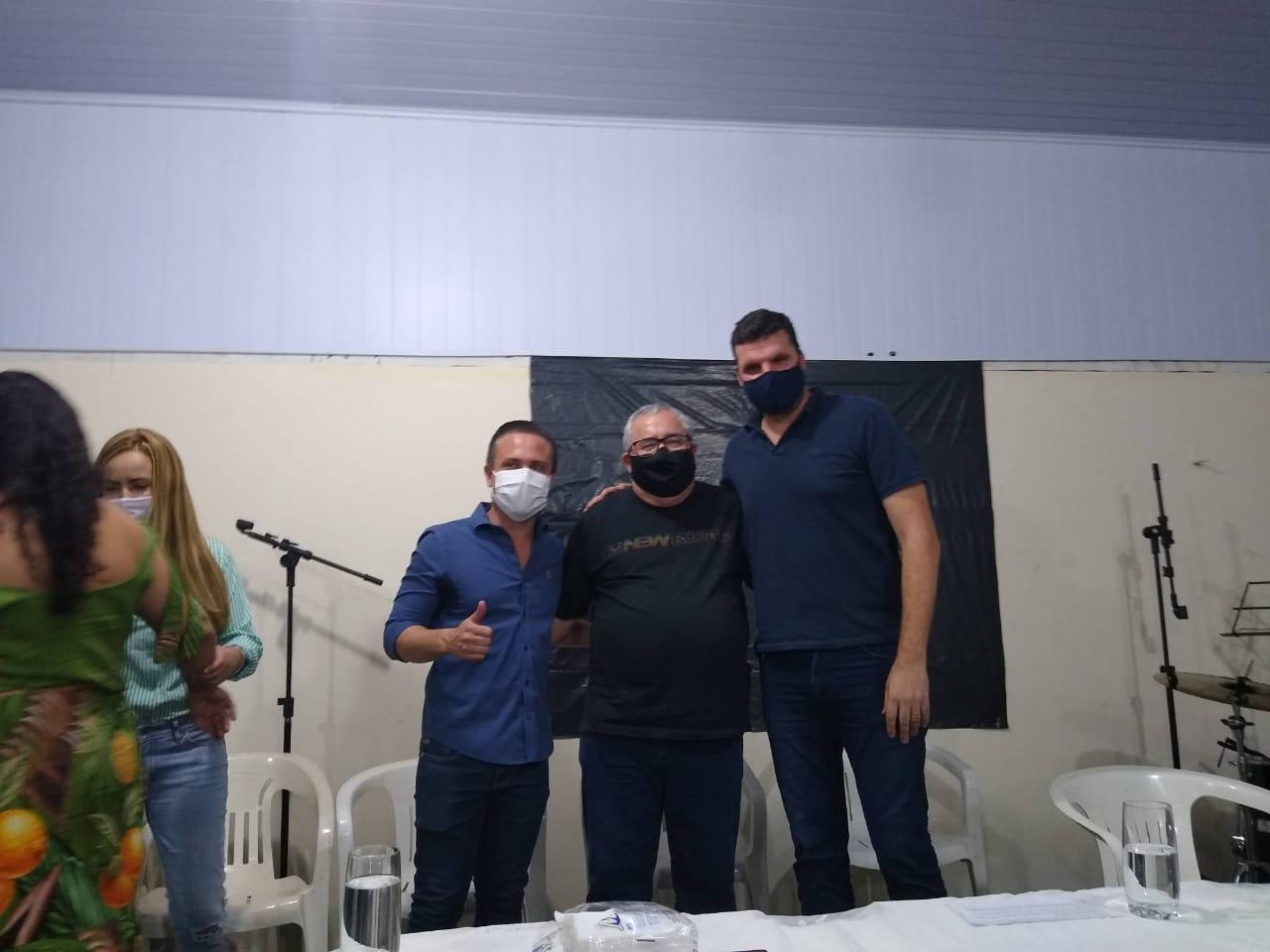 Londrina - Candidato a prefeito de Jacarezinho Marcelo Palhares (PSD) recebeu o Conselheiro do Crea-PR