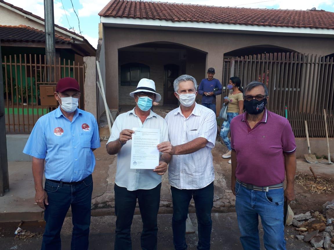 Regional Londrina - Candidatos à Prefeitura de Cambará recebem propostas da Agenda Parlamentar