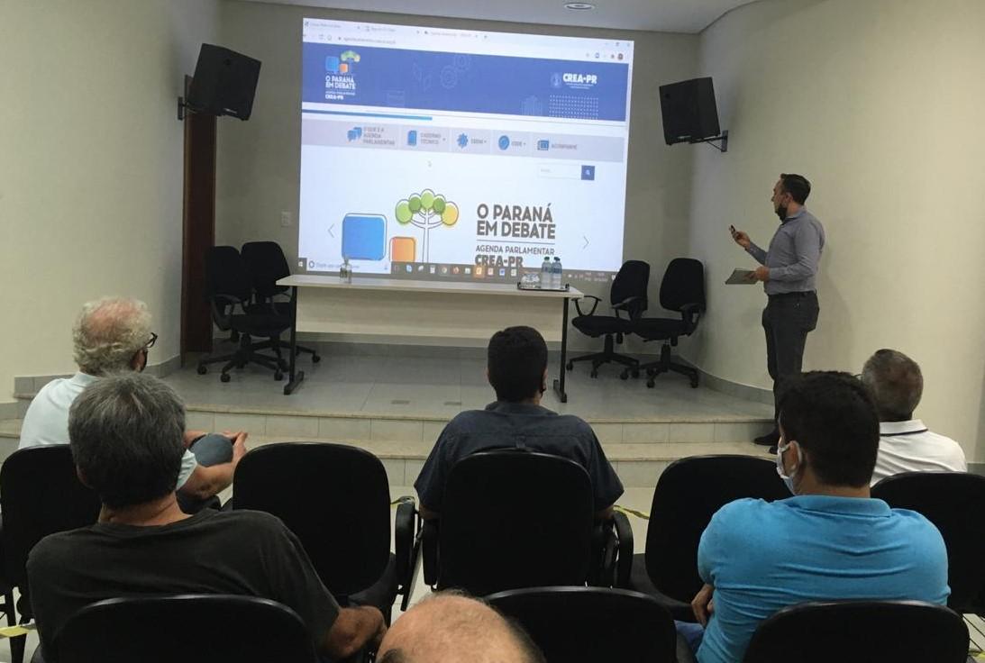 Regional Maringá - Agenda Parlamentar do Crea-PR aborda todos os prefeitos eleitos das maiores cidades da região