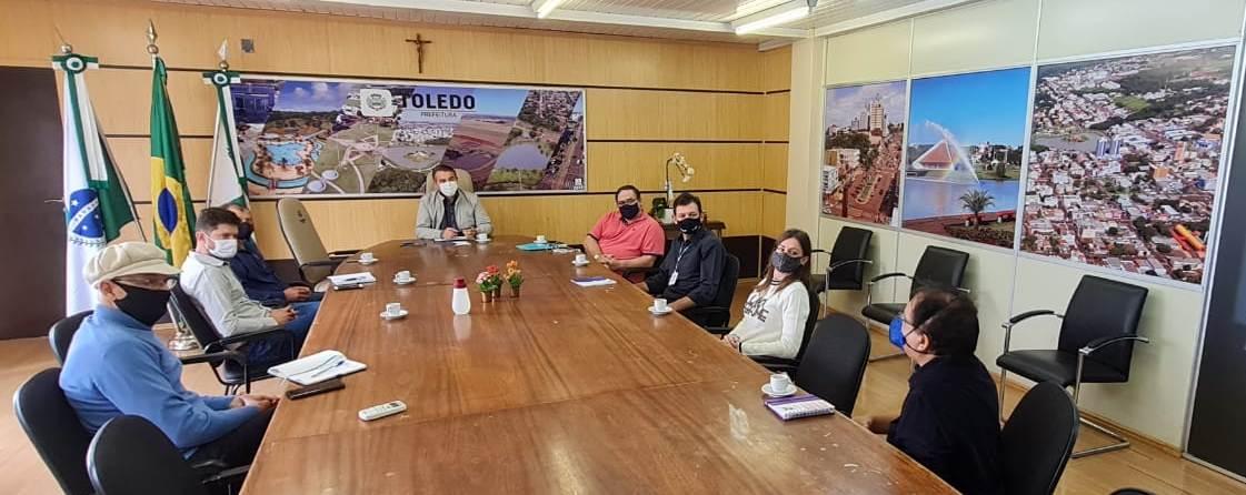 Agenda Parlamentar no município de Toledo